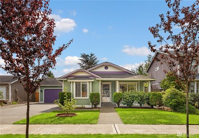Sumner Single Family Home For Sale: 15508 55th St Ct E