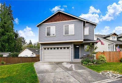 Snohomish County Single Family Home For Sale: 610 197th St SE