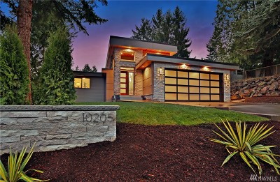 0, King County, Pierce County, Snohomish County Single Family Home For Sale: 10205 NE 24th St