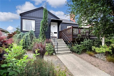 King County Single Family Home For Sale: 7321 24th Ave NW
