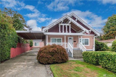 Tacoma Single Family Home For Sale: 5637 S K St