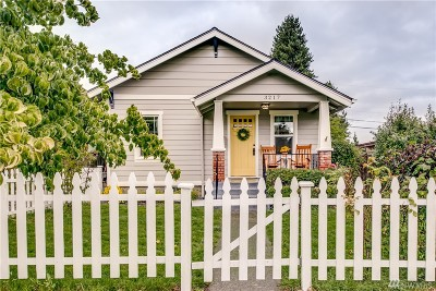 Tacoma Single Family Home For Sale: 3217 S Melrose St