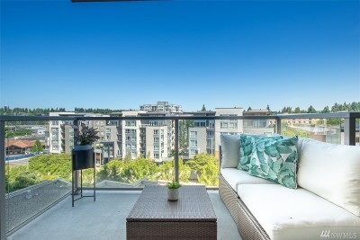 King County Condo/Townhouse For Sale: 10650 NE 9th Place #925