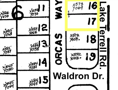 Residential Lots & Land Sold: 1552 Orcas Wy