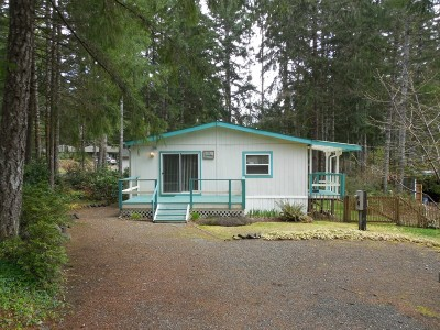 Shelton WA Single Family Home Sold: $61,000