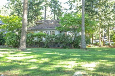 Blaine Single Family Home Sold: 5500 Canvasback Rd