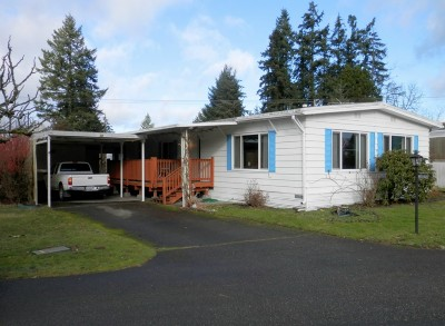 Gig Harbor WA Mobile Home Sold: $29,000