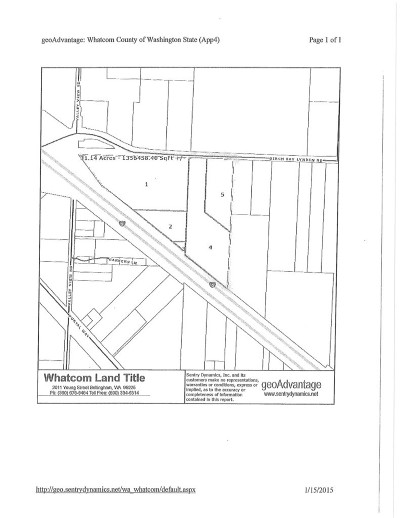 Custer Residential Lots & Land For Sale: Birch Bay Lynden Rd
