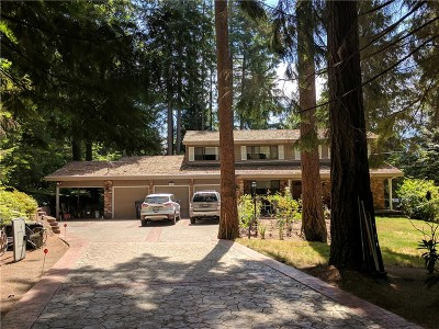 Woodinville Single Family Home For Sale: 18241 NE 196th St
