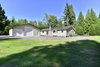 Blaine Single Family Home Sold: 9019 Salmon Creek Lane
