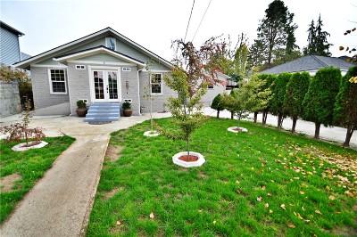 Single Family Home Sold: 8612 Seward Park Ave S