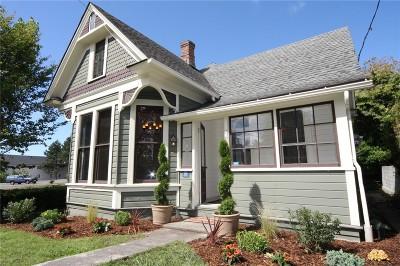 Bellingham Single Family Home Sold: 1611 G St