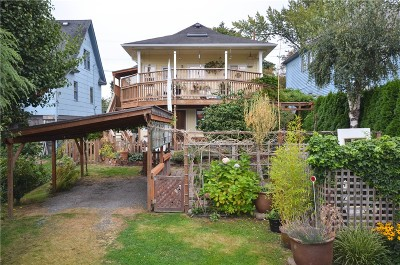Bellingham Single Family Home Sold: 1233 Franklin St