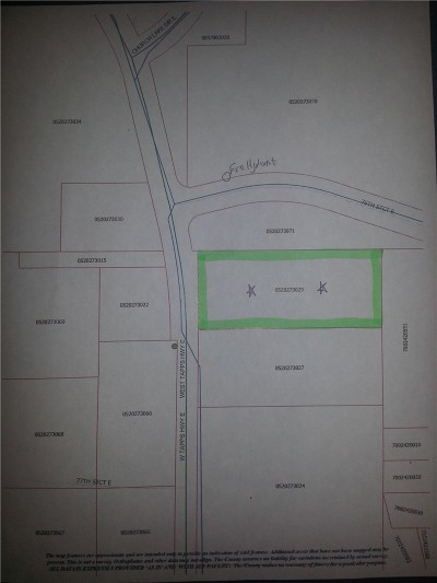 Bonney Lake Residential Lots & Land For Sale: 7611 W Tapps Hwy E