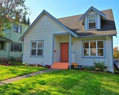 Bellingham Single Family Home Sold: 1337 Franklin St