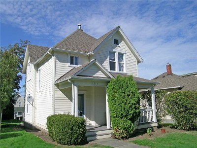 Bellingham Single Family Home Sold: 1217 Indian St