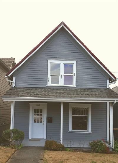 Bellingham Single Family Home Sold: 1417 Garden N