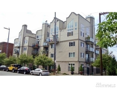 Condo/Townhouse Sold: 231 Belmont Ave E #404