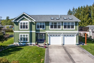 Blaine Single Family Home Sold: 5592 Salish Rd