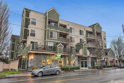 Condo/Townhouse Sold: 9057 Greenwood Ave N #405