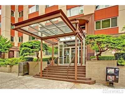Condo/Townhouse Sold: 1400 Hubbell Place #903
