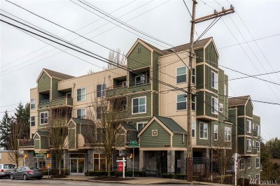 Condo/Townhouse Sold: 9057 Greenwood Ave N #204