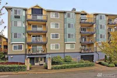 Condo/Townhouse Sold: 8720 Phinney Ave N #34