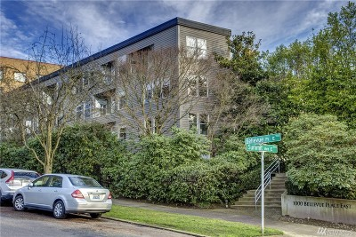 Condo/Townhouse Sold: 1000 Bellevue Place E #1
