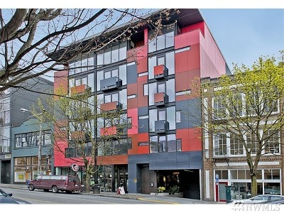 Condo/Townhouse Sold: 1111 E Pike St #406