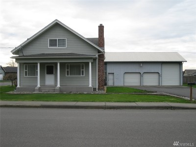 Nooksack Single Family Home Sold: 301 W 3rd St