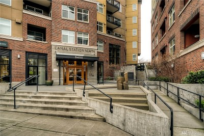 Condo/Townhouse Sold: 5450 Leary Ave NW #543