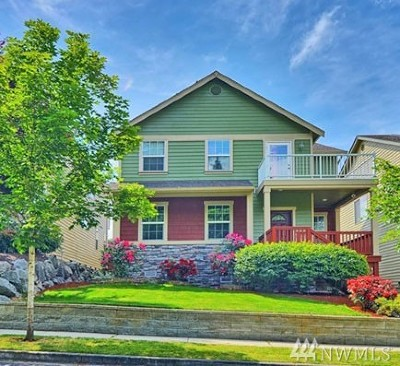 Bothell WA Single Family Home For Sale: $459,950