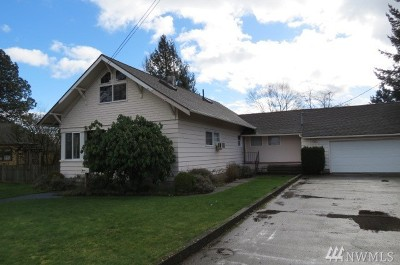 Lynden Single Family Home Sold: 1709 Front Street