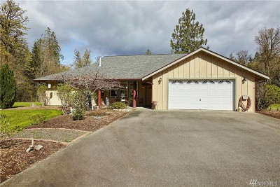 Mason County Single Family Home Sold: 7851 E Grapeview Loop Rd
