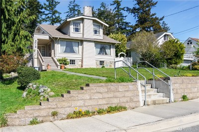 Anacortes Single Family Home Sold: 5918 Sunset Ave