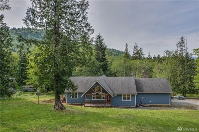 Sedro Woolley Single Family Home Sold: 25000 Old Day Creek Rd