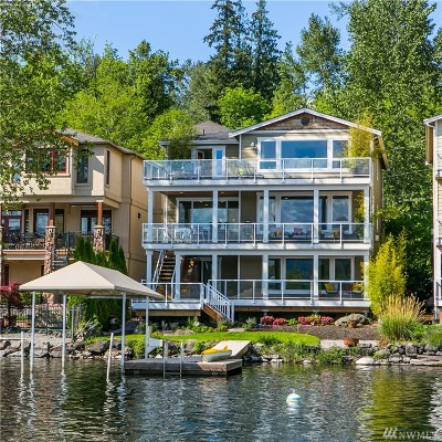 Single Family Home Sold: 4285 E Lake Sammamish Shore Lane SE