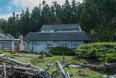 Freeland Single Family Home Sold: 6496 Bay Rd