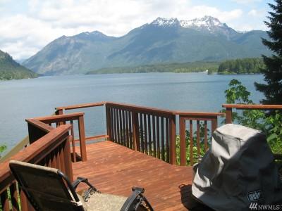 Hoodsport Single Family Home For Sale: 5901 N Lake Cushman Rd