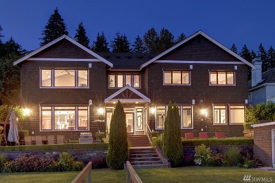 Waterfront Home Sold: 3801 E Lake Sammamish Pkwy NE
