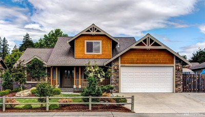 Ferndale Single Family Home Sold: 1412 Patriot Lane