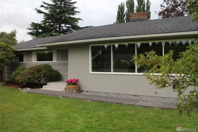 Skagit County Single Family Home Sold: 15466 Sunset Lane