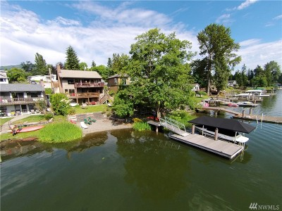 Mount Vernon Single Family Home Sold: 17192 Lake View Blvd