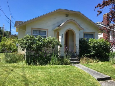 Single Family Home Sold: 2601 Cherry St