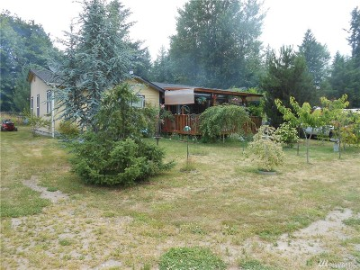 Single Family Home For Sale: 21632 Oregon Trail Rd