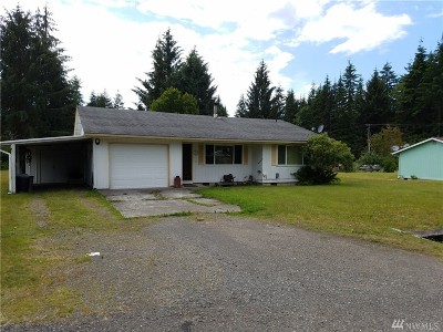 Forks WA Single Family Home For Sale: $127,000