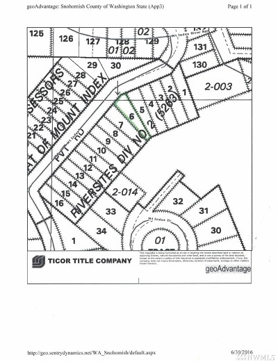 Residential Lots & Land Sold: 504 Mt Index River Rd