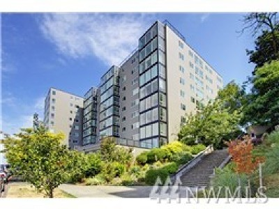 Condo/Townhouse Sold: 308 E Republican St #509