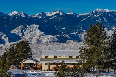 Methow, Carlton Single Family Home For Sale: 696 Texas Creek Rd