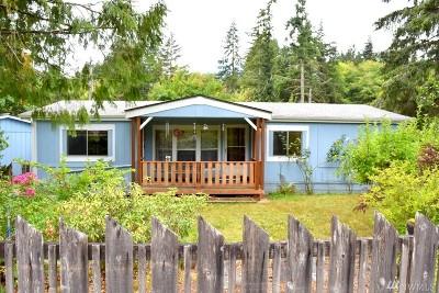 Shelton Single Family Home Sold: 1740 E Agate Loop Rd